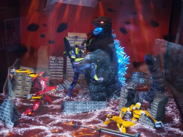 Evangelion VS Godzilla