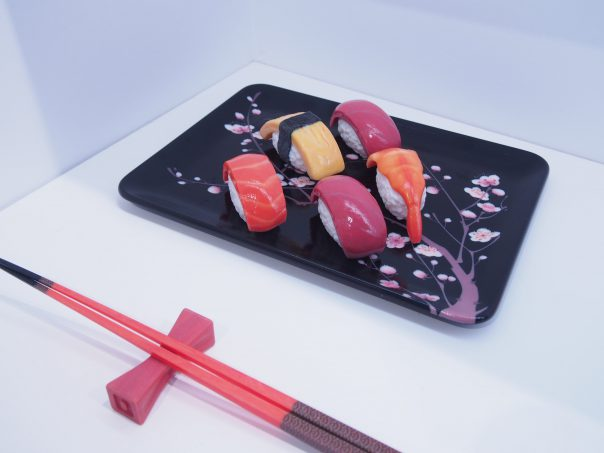 Sushi made by 3D Printer