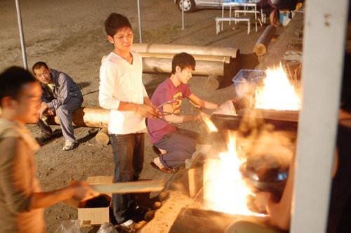 Cooking Stove of Hinohara Nature Lodge