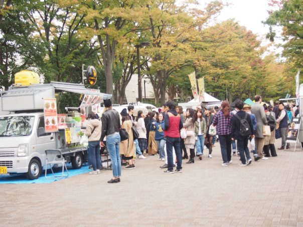 Vege Food Festa 2016 in Yoyoki Koen