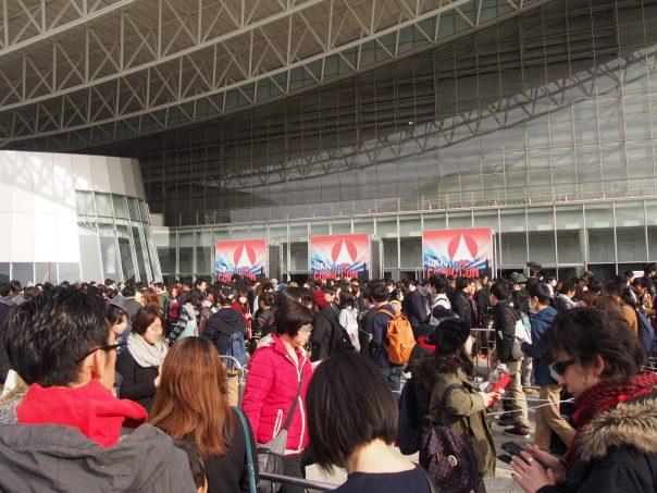 Line of Tokyo ComiC Con