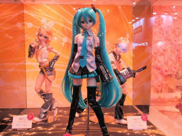 Dolls of Miku Hatsune