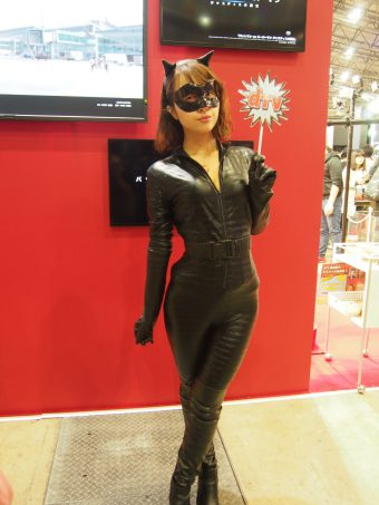 Cosplayer of Cat woman
