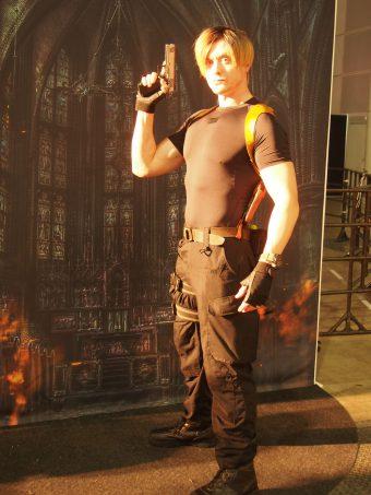 Cosplayer of Resident Evil