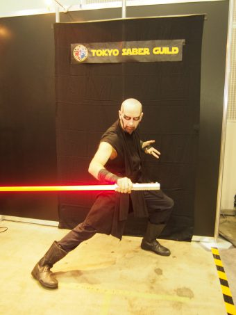 Cosplayer of Star Wars