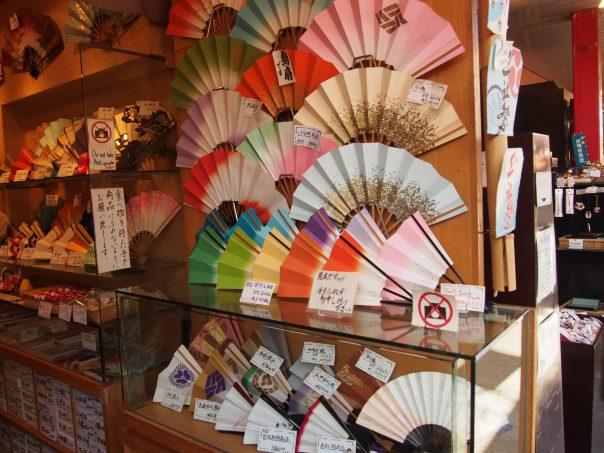 Souvenir shop in Sensouji