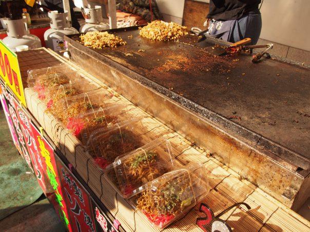 Food Stall of Sensouji in Asakusa