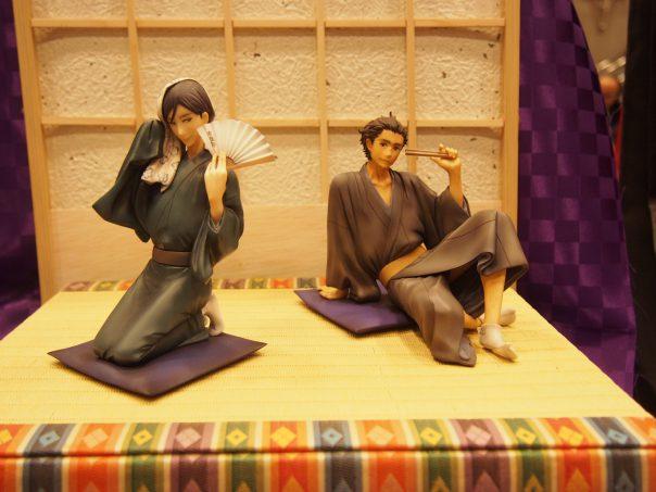 Figures of Showa Genroku Rakugo Shinju