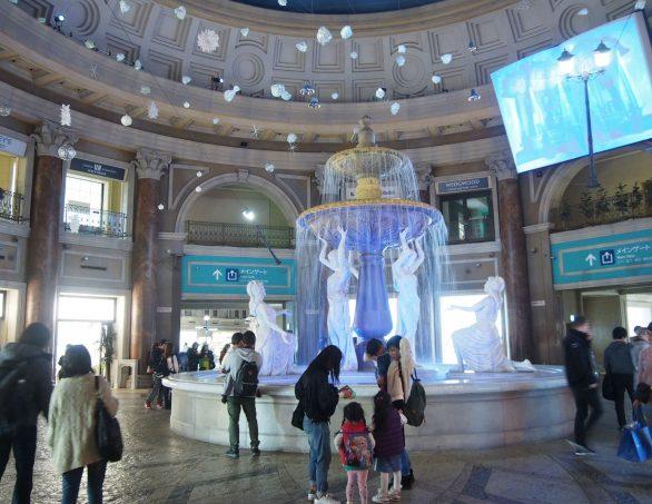 Inside Venus Fort