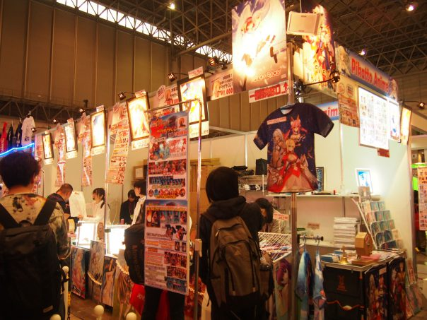 Booth of Anime Goods