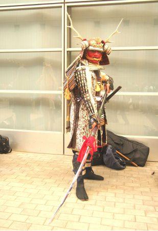 Cosplayer of Warrior