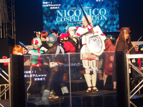 Stage of Cosplayers