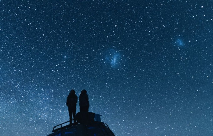 Starry night with someone special