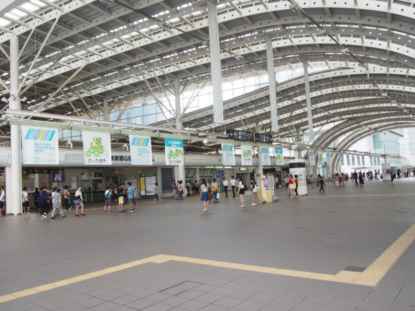 Saitamashintoshin Station