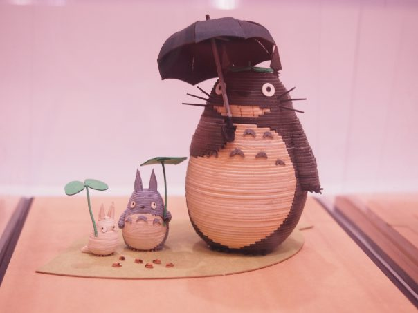 Miniature figure of Totoro