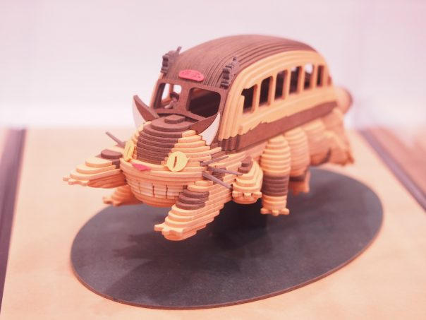Miniature figure of Neko Cat Bus