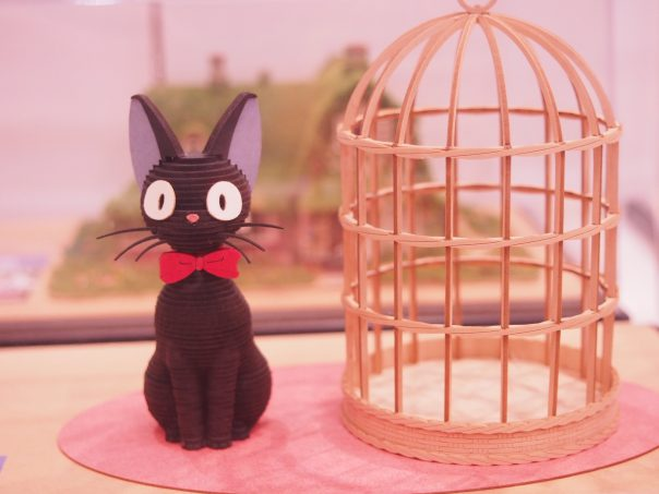 Miniature figure of Jiji