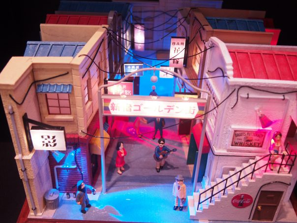 Plastic Model of Golden Gai