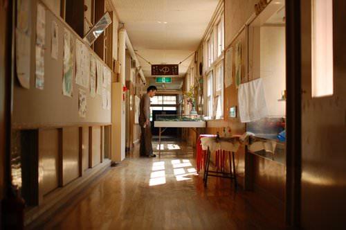 Hallway of Hinohara Nature Lodge