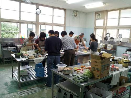 Cooking Room of Hinohara Nature Lodge