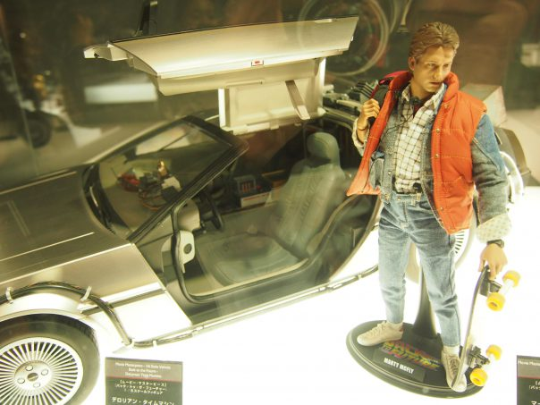 Marty and De Lorean