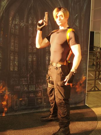 Cosplayer of Resident Evil