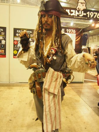 Cosplayer of Jack Sparrow