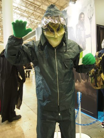 Cosplayer of Frog
