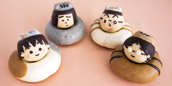 Doughnuts of Chibi Maruko Chan from Floresta