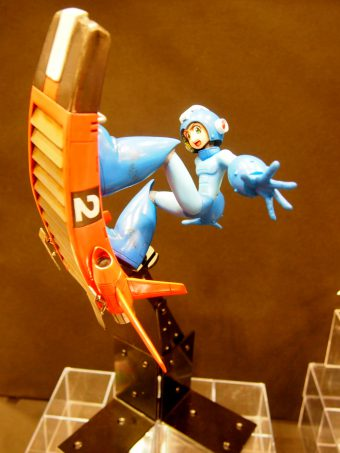 Figure of Rockman or Megaman