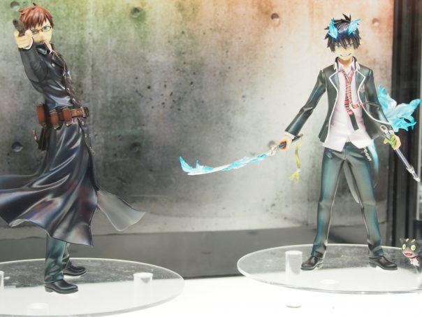 Figures of Rin and Yukio form Blue Exorcist