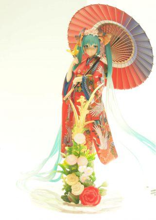 Miku Hatsune in Kimono