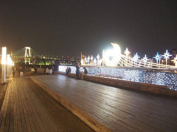 Night View of Deck