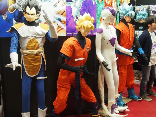 Costume of Goku, Vegeta, Freeza