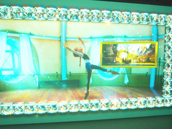 Projection Mapping of Ballerina