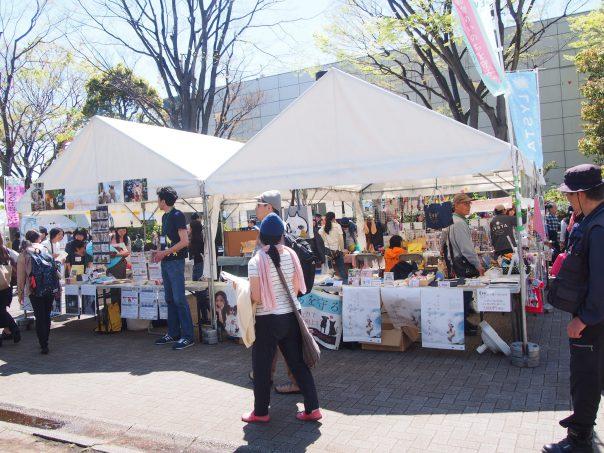 Shops along the boulevard