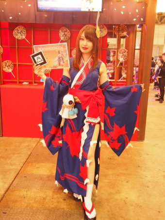 Cosplayer of Onmyouji