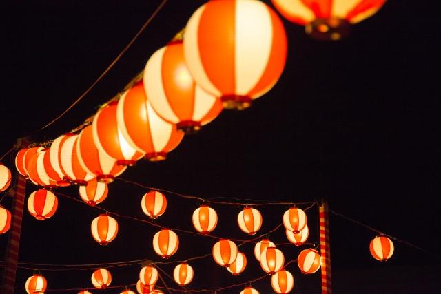 Paper Lantern in Bon Festival