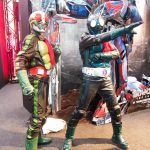 Cosplayers of Masked Roders