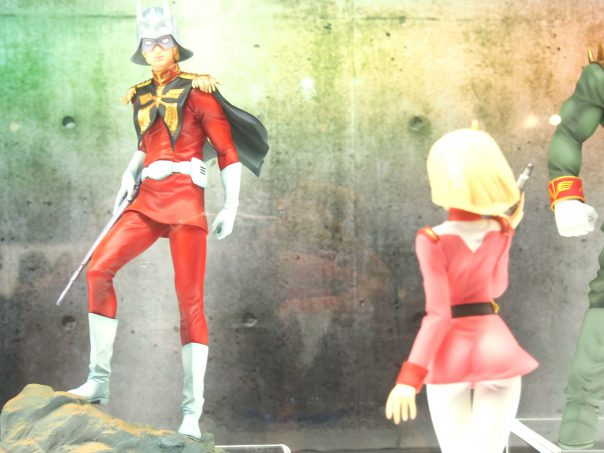Char and Sayla from Gundam
