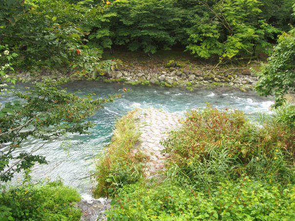 River in Kanman no Michi