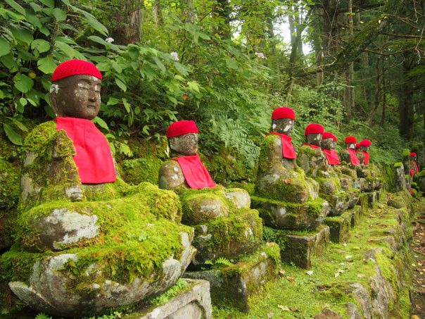 Narabi Jizo (Bake Jizo or Ghost Jizo)
