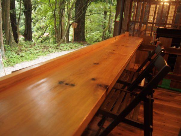 Table Counter of Hongu Cafe