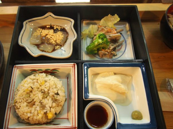 Hongu Wazen at Hongu Cafe