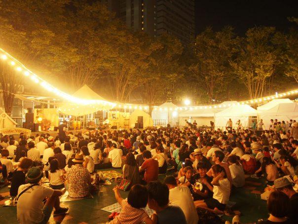 Stage after Live Concert