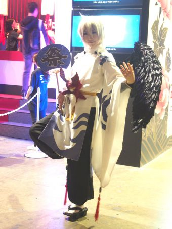 Cosplayer of Otengu
