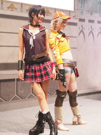 Cosplayers of Cidney and Iris