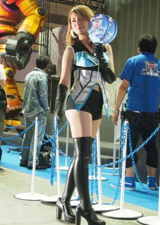 Cosplayer of EARTH DEFENSE FORCES 5