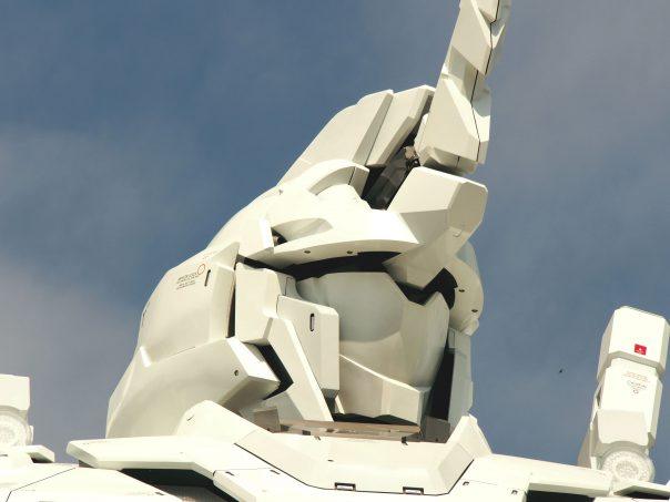 Face of Unicorn Gundam