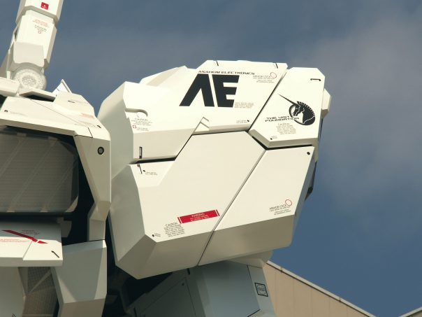Shoulder of Unicorn Gundam